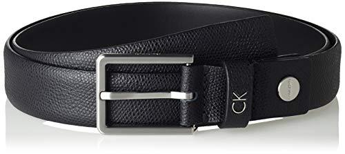 Calvin Klein Herren FORMAL ADJ.PALMELLATO BELT 3CM Gürtel, Schwarz (Black 001), 674 (Herstellergröße: 90)