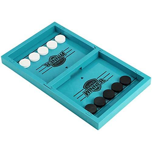 DDD123 Juego rápido de Sling Puck Ritmo, Juegos de mesa de hockey sobre hielo juegos, Ajedrez interactivo de los padres/hijos, Juguete de ajedrez de parachoques, Juegos de mesa de batalla