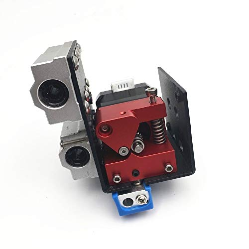 SANKUAI LT-3d, 1set Right Aluminum Dual Gear Feeder Extruder Upgrade Kit Dual Drive Extruder For DIY Anet A8/ For Wanhao/for Monoprice I3 3D Printer (Size : Full Kit)