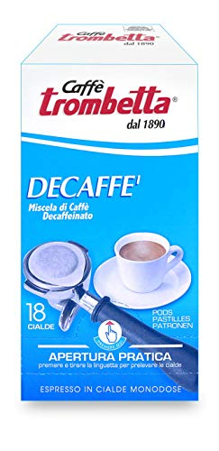 Caffè Trombetta, Caffè in Cialda ESE, Decaffeianto - 18 Cialde