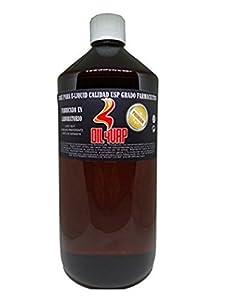 Base liquido de cigarrillo electronico OIL4VAP 1L SIN NICOTINA 20% propilenglicol 80% glicerina