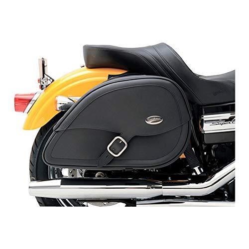 Save %12 Now! Saddlemen 3501-0485 Rigid-Mount Specific-Fit Teardrop Drifter Saddlebag