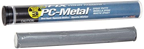 PC Products PC-Metal Epoxy Putty, 2oz Stick, Dark Gray