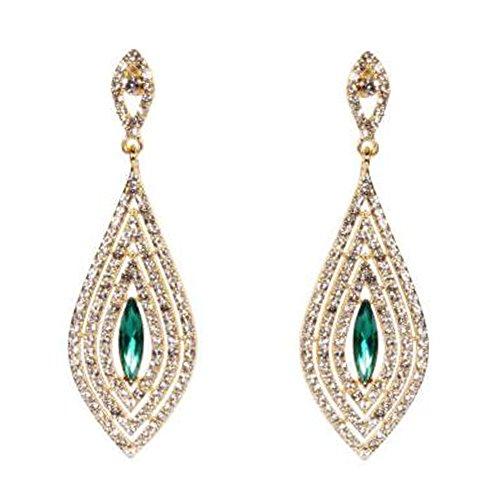 Elegant Dangle Earrings Tassel Earrings Ears Decoration For Ladies, No.4