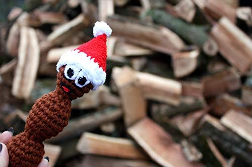 Crochet toy, Brown toy, Mr Hankey, South Park, Mr Hanky, Christmas Poo, Christmas gifts, South Park gift, Howdy Ho