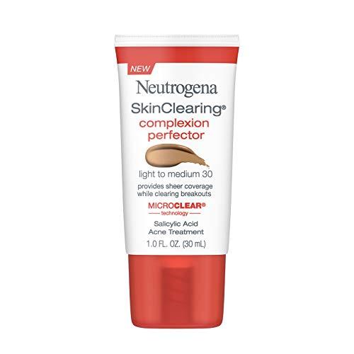 Neutrogena Skinclearing Complexion Perfector With Salicylic Acid, Light - Medium, 1 Fl. Oz.