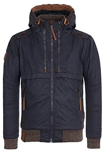 Naketano Herren Jacke Papst Inner Tasche Jacket, Dark Blue, Gr. S