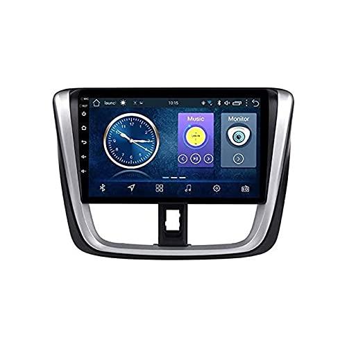 10.1 Pulgadas Touchscreen Coche Estéreo GPS Navegación Para TOYOTA VIOS 2016-2018 Auto Multimedia Player Video SAT NAV FM Radio Receptor Con Wifi Bluetooth Mirrorlink SWC USB,4 core 4g+wifi: 2+32gb