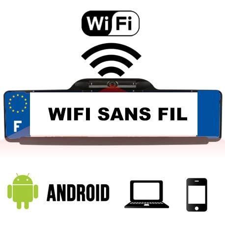 Telecamera retromarcia WiFi per smartphone e tablet Android, senza fili, impermeabile e colori