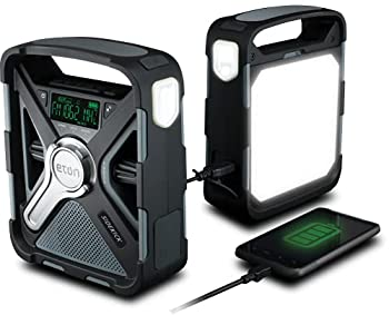Eton SIDEKICK Ultimate Camping AM/FM/NOAA Radio with S.A.M.E Technology