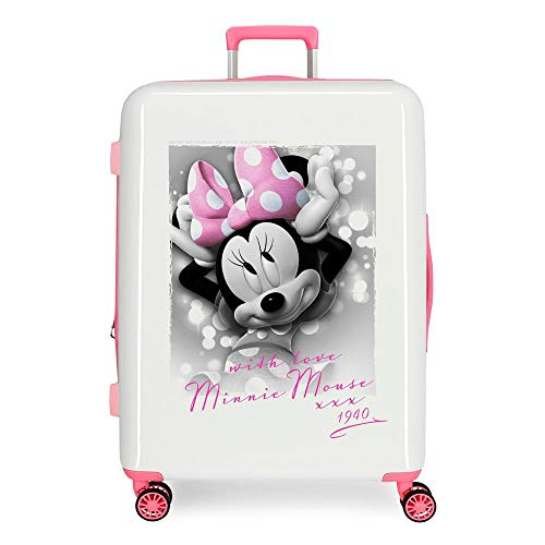 Koffer Minnie Style with Love harde schaal 70 cm