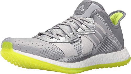 adidas Performance Men's Pure Boost Zg Cross-Trainer Shoe, Silver/Metallic/White/Semi Solar Slime, 8 M US