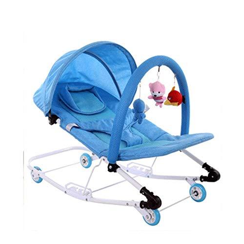 WCJ Swing Fopspeen van de baby met verwisselbare Baby van de Tu Rocking Chair, Verhoog Children's Cradle Bed, Seasons Universal Swing Comfort Chair Cradle