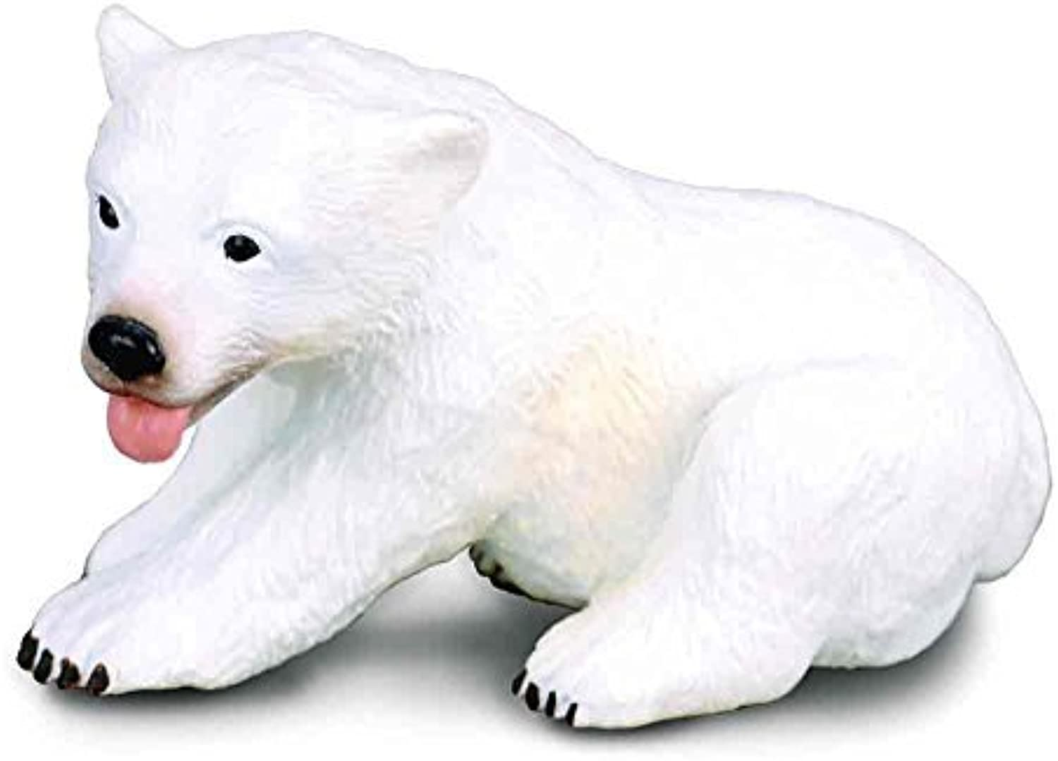 CollectA Polar Bear Cub (Sitting) Figure by Collecta