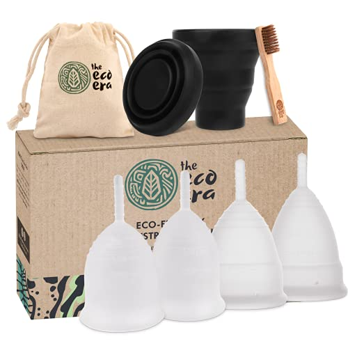 The Eco Era Menstruationstassen-Set