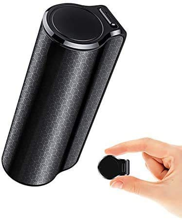 FiveSky Registratore Vocale Spia, Micro Registratore Vocale da 16GB con Attivazione Vocale Registrazione fino a 15 Giorni con Calamita e Impermeabile, Ideale per Lezioni, Meetings, Interviste