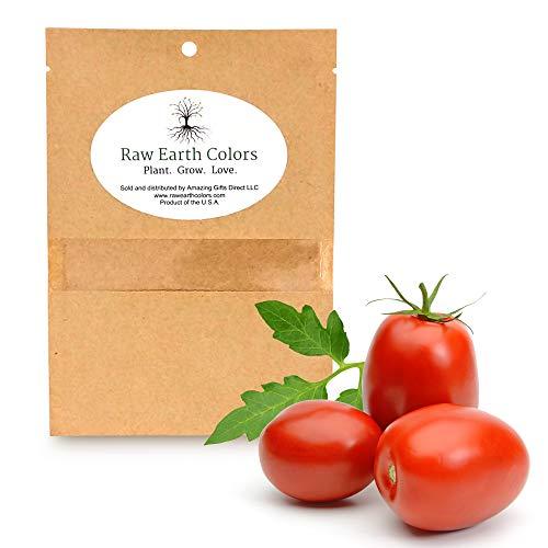 Roma Tomato Seeds for Planting Home Vegetable Garden - Heirloom Roma Tomato