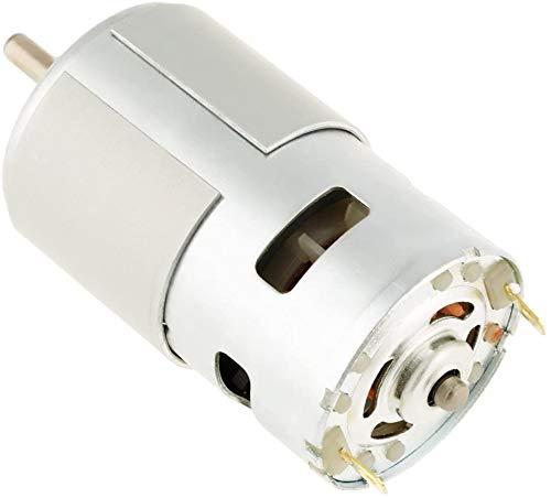 FTVOGUE Herramienta eléctrica 775 12 Vdc Motor 12000rpm miniatura eléctrico pequeño motor...