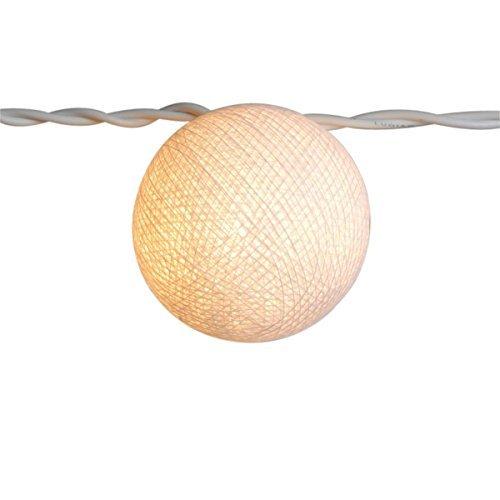 Preisvergleich Produktbild Freak Scene® Lichterkettenkugel ° Cocoon Kugel ° Lichtball,  Farbe: weiß