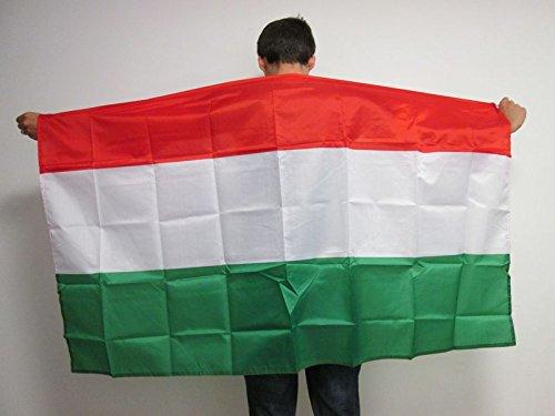 AZ FLAG UMHANGFLAGGE UNGARN 150x90cm - UNGARISCHE Cape Fahne 90 x 150 cm - flaggen