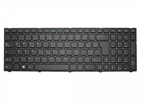 Tastatur DE (deutsch) schwarz/schwarz matt 40046264 für Medion Akoya E6237, E6239, E6239T, E6240, E6240T, E6241, E6647, E7223, E7223T, E7225, E7225T, E7226, E7226T, E7227, E7227T, E7228, E7411, E7415, E7415T, E7416, E7419, E7420, E7421, E7631, P6643, P6647, P7627, P7627T, P7628, P7631, P7631T, P7632, P7637, P7639, P7641, P7645 / Erazer P7643, P7644, P7645