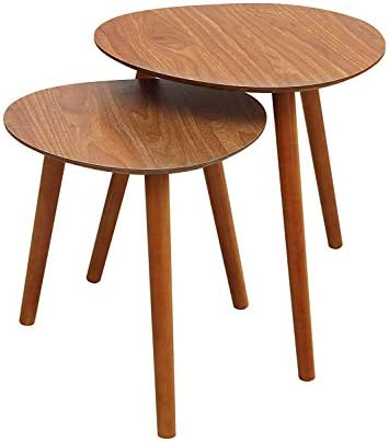 Best Convenience Concepts Oslo Java Nesting End Tables, Java