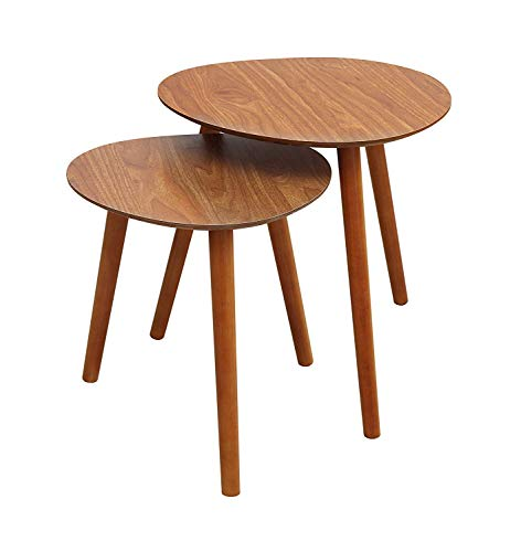 Convenience Concepts Oslo Java Nesting End Tables, Java