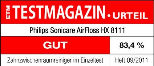 Philips Sonicare HX8111/02 Air Floss zur Zahnzwischenraum Reinigung - 20