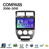 Android 8.1 GPS Navigazione Sistemi Multimediali per Jeep Compass MK 2006-2010 con 10.1 Po...