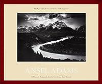 ポスター アンセル アダムス Teton Snake River 額装品 ウッドベーシックフレーム(レッド)