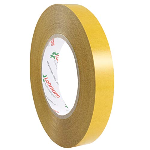 Lohmann Duplocoll 3702 | Doppelseitiges Montageklebeband | Breite wählbar | 50 m auf Rolle | Stark & permanent klebend | Transparent | Klebeband aus PE / 9 mm x 50 m