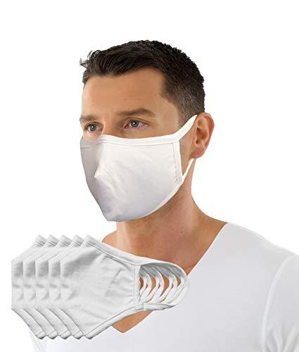 ALBERT KREUZ Mund-und Nasen-Maske aus Bio-Baumwolle zweilagig mit Edestahl-Nasenbügel (5)