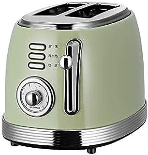 Toaster 2 Slice, machine de petit-déjeuner multifonctionnel à domicile, machine à sandwich pain automatique, plateau de mi...