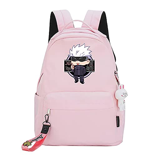 Yuhuaouzhou Mochila de Anime Para Cosplay Jujutsu Kaisen, bolso de hombro de colegio Para estudiante, portátil Para adolescentes, Mochila de viaje Para Hombre