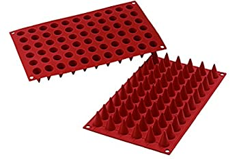 Silikomart Silicone Classic Collection Mold Shapes Mini Cones