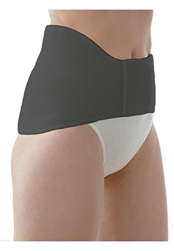 Medima Classic ThermoAS Rückenwärmer mit Klettverschluss, schwarz - Größe S