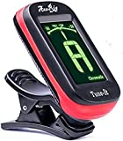 AxeRig Clip-On Chromatic Guitar Tuner for Acoustic, Bass, 6 & 12 string Guitars, Banjo, Mandolin, Ukulele, Violin, Cello, Trumpet, Brass, Sax, Flute, Woodwinds - SPARE BATTERY