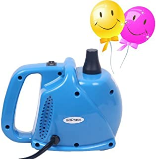 Signstek Electric Portable Household Air Blower Electric Balloon Air Pump Inflator with..
