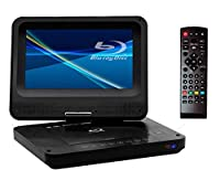 TEES ブルーレイ ポータブルDVDプレーヤー 9インチ TS-PBD969-BK ティーズ 9型ワイド液晶モニター Blu-ray ACアダプター DCアダプター 充電利用可能 車載 USB HDMI SDカードスロット TES アウトドア ティータイム 学習DVD用