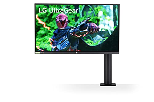 LG 27GN88A-B 68,5 cm (27 Zoll) WQHD UltraGear Gaming Monitor (Nano IPS-Panel mit 1ms (GtG), 144 Hz, ergonomischer Standfuß), schwarz