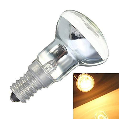 libelyef Ersatzlampe Für Lavalampe Mit E14 Fassung 30W, Edison Birne Lampenfassung R39 Reflektor Spot Glühbirne Glühlampe Für Lavalampen [Energieklasse E]