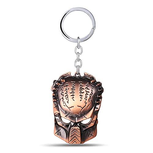 ZIYUYANG llavero, llavero colgante de metal llavero regalos de joyería para hombres y mujeres redcopper