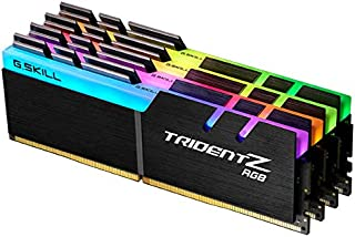 G.Skill DDR4メモリ DDR4-2666 128GBKit(32GB×4枚組)国内正規品 OVERCLOCK WORKS購入限定特典ステッカー付き F4-2666C18Q-128GTZR