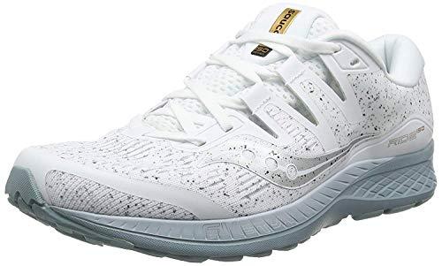 Saucony Ride ISO, Zapatillas de Running Hombre, Blanco (White 40), 42.5 EU