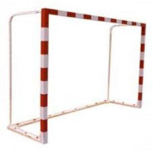 Softee–JGO Fußballtore f. Sala/Handball Holz trasladables 80x 80mm mit Base 80x 40mm