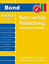 Bond Non-verbal Reasoning Assessment Papers 6-7 years by Alison Primrose (2007-02-14)