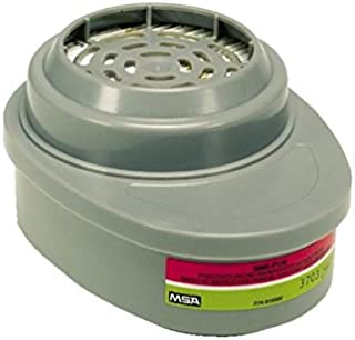 MSA (Mine Safety Appliances) 815366 Multi Gas P100 Respirator Cartridge, English, 15.34 fl. oz, Plastic, 1
