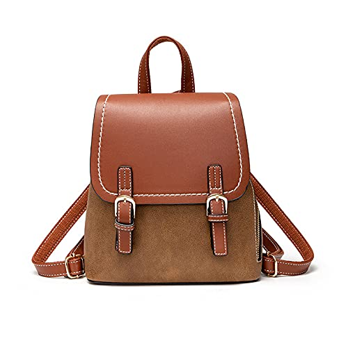 QIANJINGCQ Mochilas, bolso de mensajero retro informal de todo fósforo a la moda, textura de viaje simple, mochila de diseño impermeable de gran capacidad