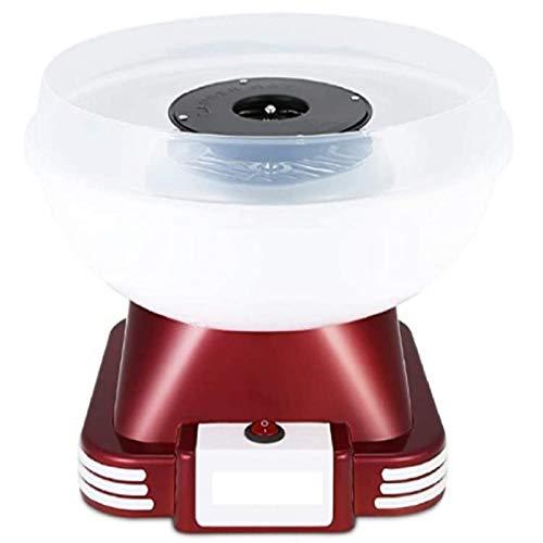 Queiting Zuckerwattemaschine für Zucker oder Harte Süßigkeiten Leicht zu Reinigen Popcorngerät Fettfrei und Gesund