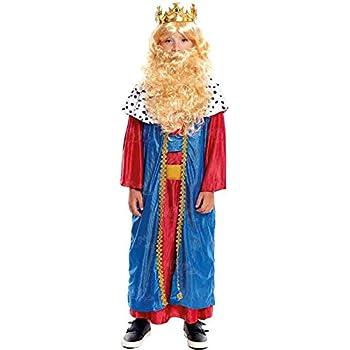 Disfraz Rey Mago Melchor niño infantil para Navidad 10-12 años ...